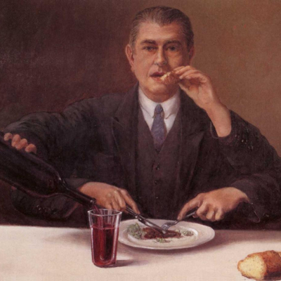 Rene Magritte - The Magician (1952)