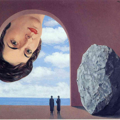 Rene Magritte - Portrait of Stephy Langui