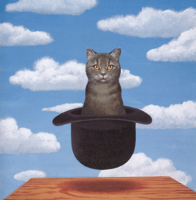 Rene Magritte - Cat in a Hat
