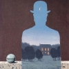 Rene Magritte - The Happy Donor (1966)